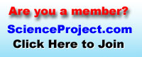 Join science project dot com for information and support with your science project.