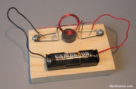 Magnet motor a very simple dc motor for Very small electric motors